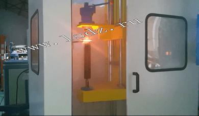 Закалочный станок с ЧПУ и ТВЧ установка